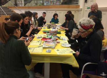 Archive Tour and Zine Workshop